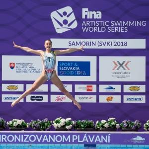 FINA Artistic Swimming World Series, Samorin, 2018